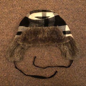 American Eagle Faux Fur Trapper Hat